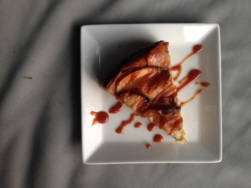 Salted Caramel AppleCheesecake