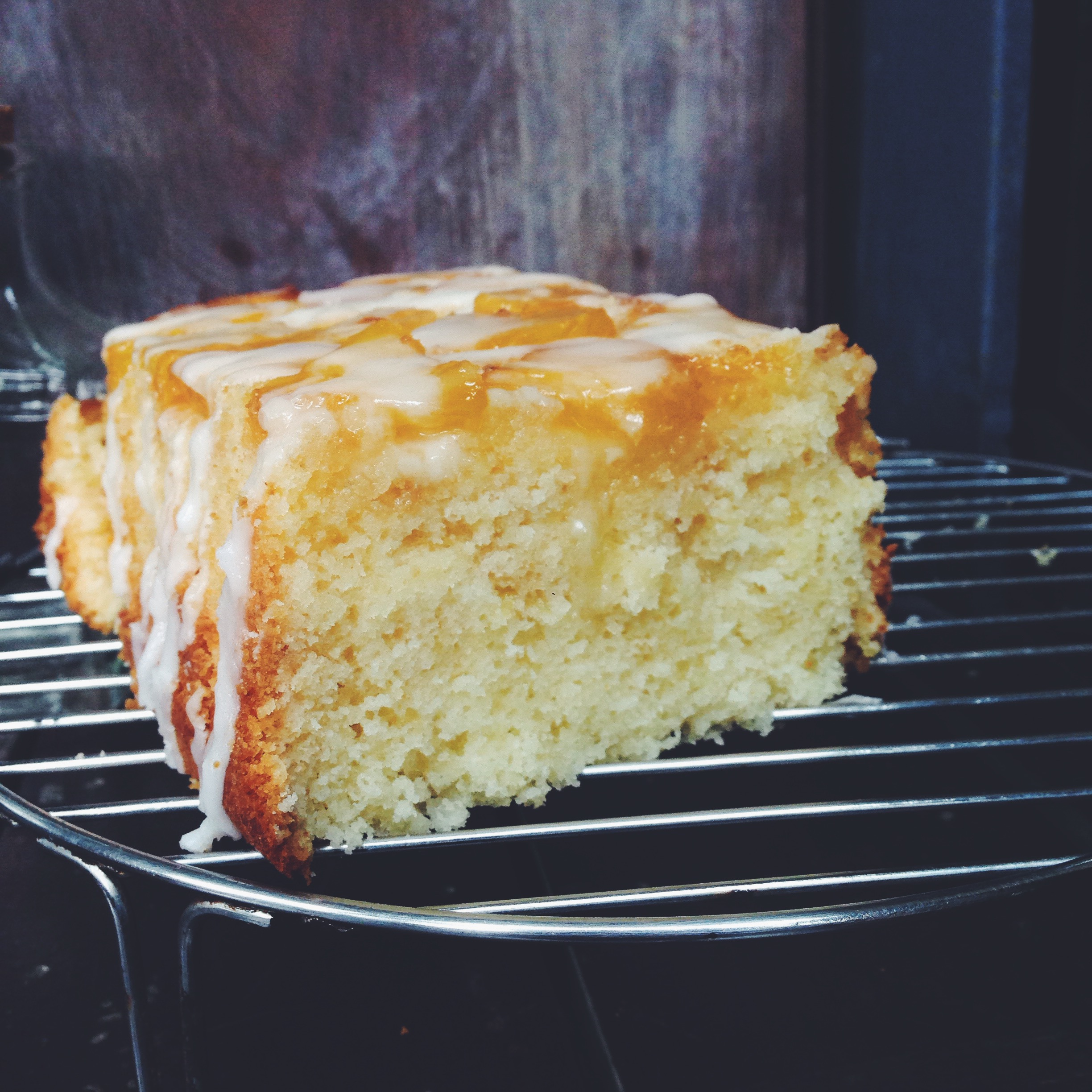 Coconut Loaf Cake With Coconut Milk